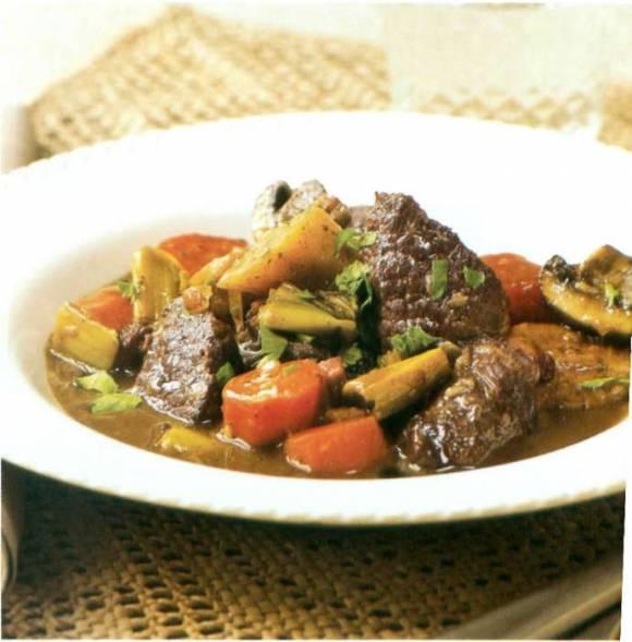 Картофель, запеченный с фасолью и грибами » Наешься ...