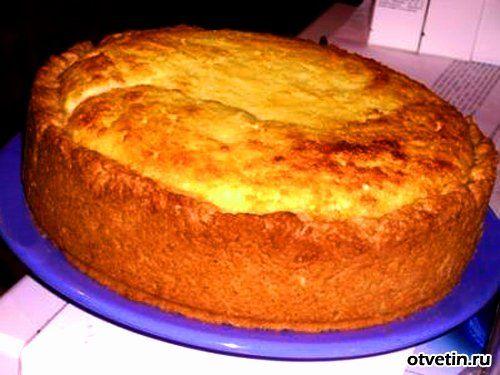 пирог из творога » Наешься: кулинарные рецепты домашних ...