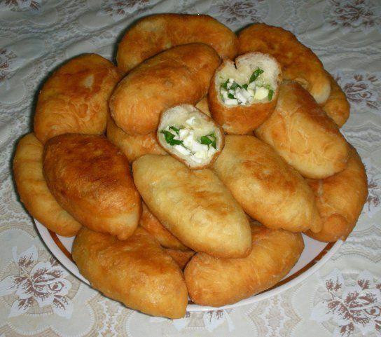 жареные пирожки с яйцом луком » Наешься: кулинарные ...