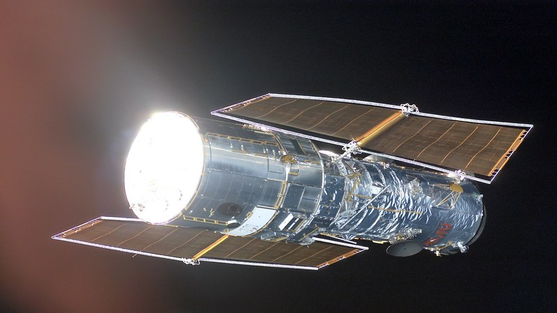 The Hubble has two solar panels to generate the required energy
