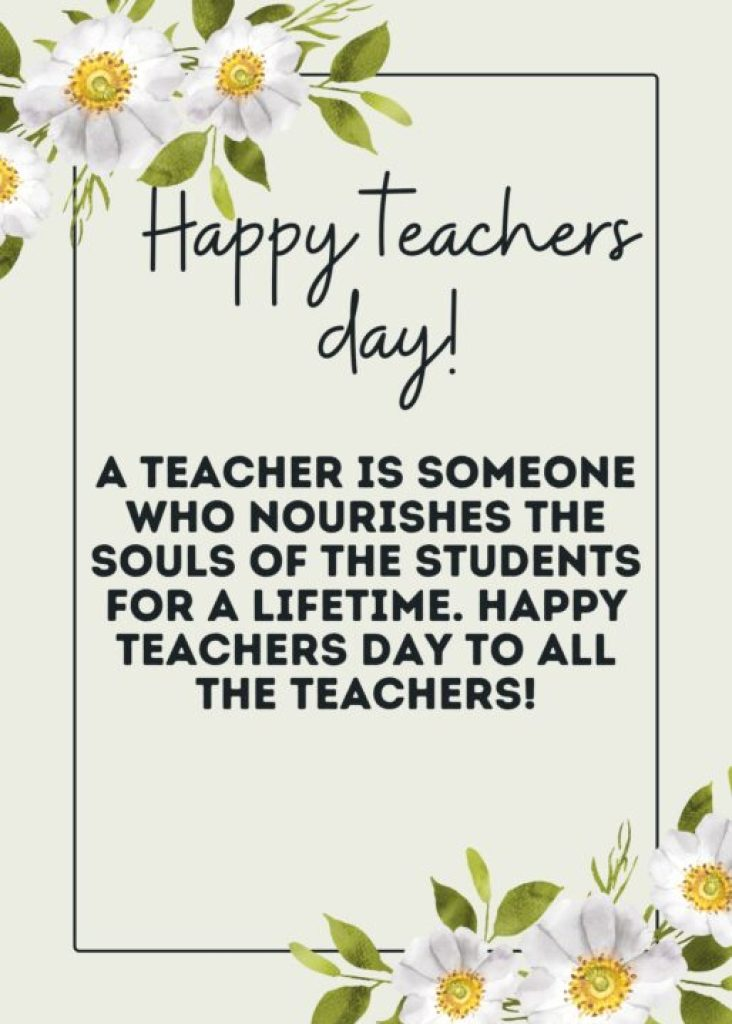 Teacher's day wishes, cards, quotes, and messages