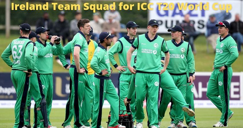 Ireland Team Squad