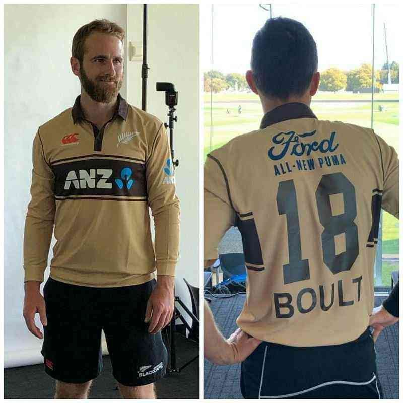 New Zealand Jersey for T20 World Cup