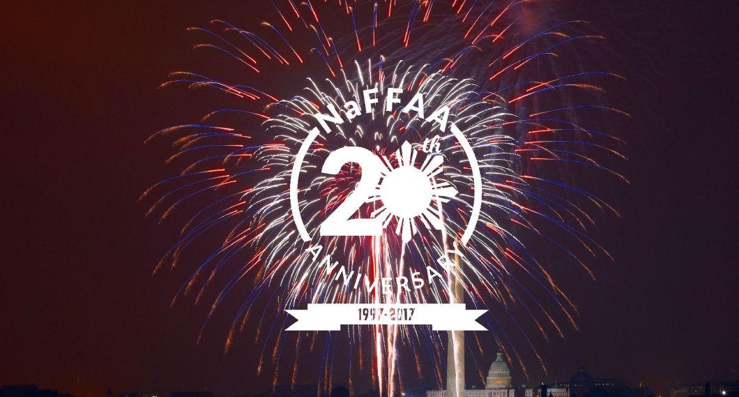 NaFFAA 20th Anniversary Header