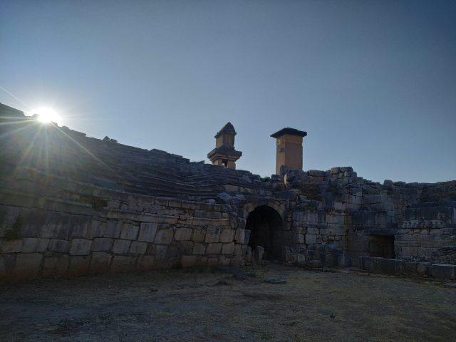 xanthos antik kenti anıtlar