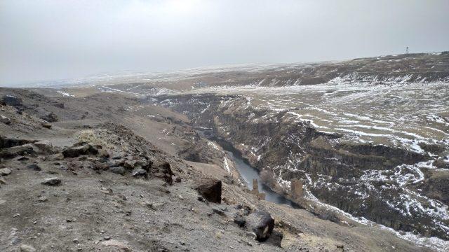 ani antik kenti türkiye ermenistan sınırı