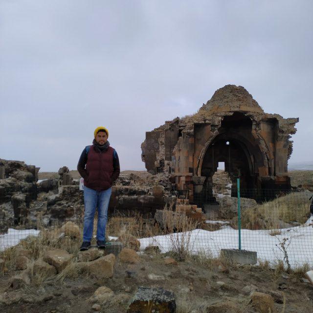 ani antik kenti kervansaray