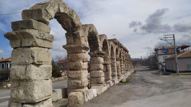 Niğde Gezilecek Yerler tyana antik kenti su kemeri