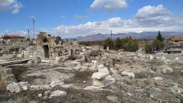 Niğde Gezilecek Yerler tyana antik kenti