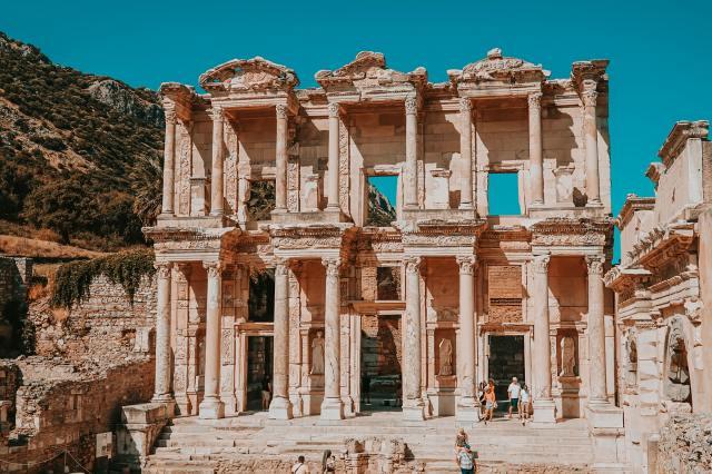 UNESCO Dünya Kültür Miras Listesi efes celcus kütüphanesi