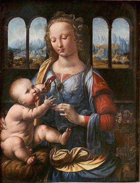 Leonardo da Vinci'nin az bilinen tabloları karanfil madonna