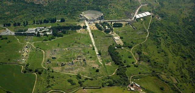 efes antik kentini günümüzdeki hali