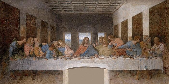 Leonardo'nun Yahudası son akşam yemeği