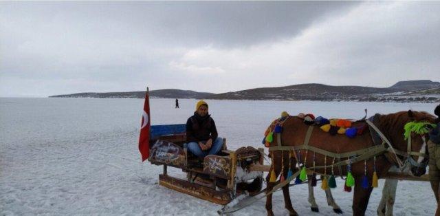 Kars gezilecek yerler çıldır gölü kızak