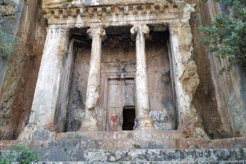 Amintas Kaya Mezarı Fethiye
