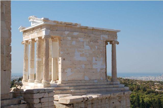 atina akropolisi athene nike tapınağı