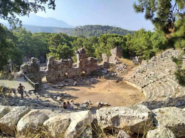 Phaselis Antik Kenti tiyatro
