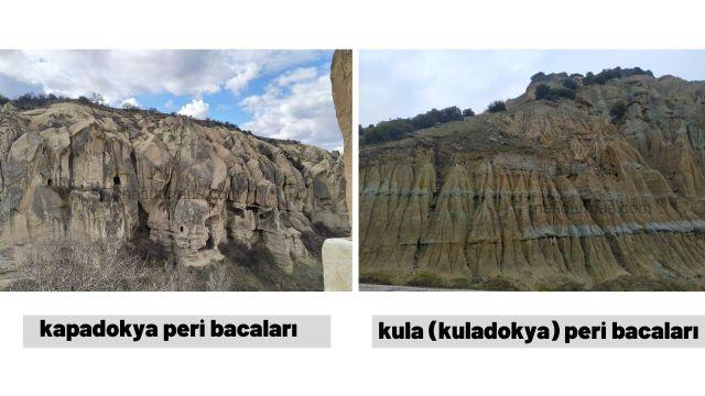 Kula Peri Bacaları vs kapadokya