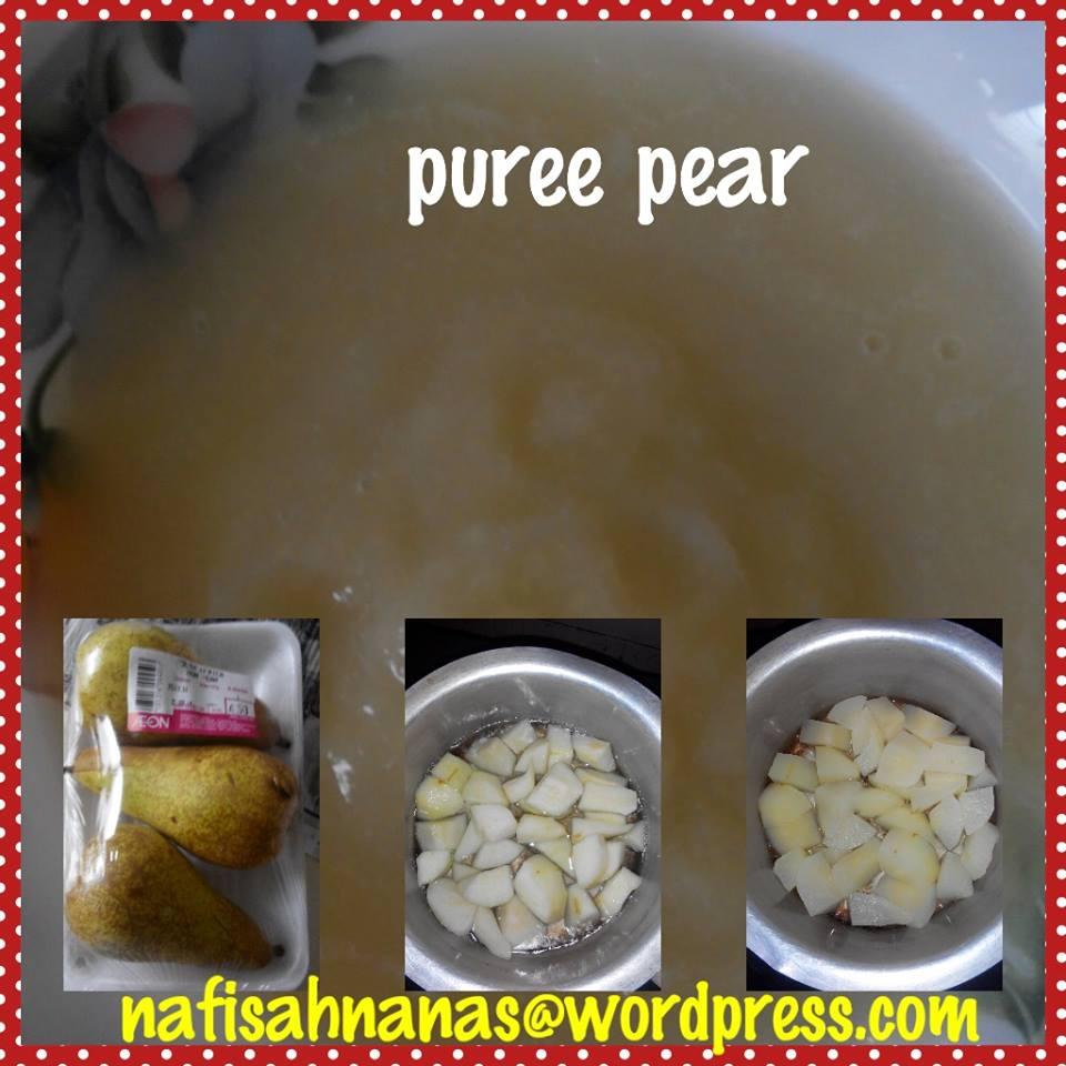 Puree & bubur beras perang untuk bayi 6 bulan (2/6)