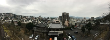 View from Sofukuji Temple