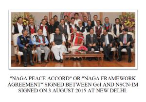 naga peace accord or framework agreement of 2015