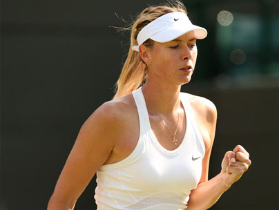 Sharapova downs Riske in tough test at Shenzhen Open