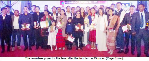 1st Nagaland Red Carpet Social Awards presented