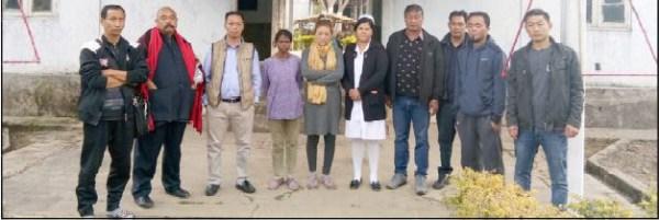 IOC & Kumlong taxi unit visits IMDH