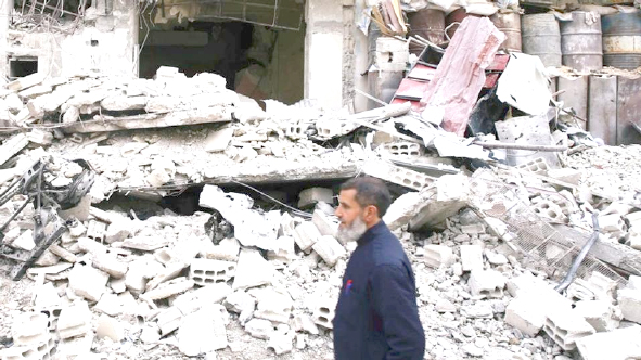 US-led airstrikes kill 25 civilians in Syria as UN rights chief decries 'slaughterhouses