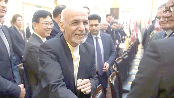 Afghanistan's Ghani offers to recognize Taliban  as political group as part of peace talks