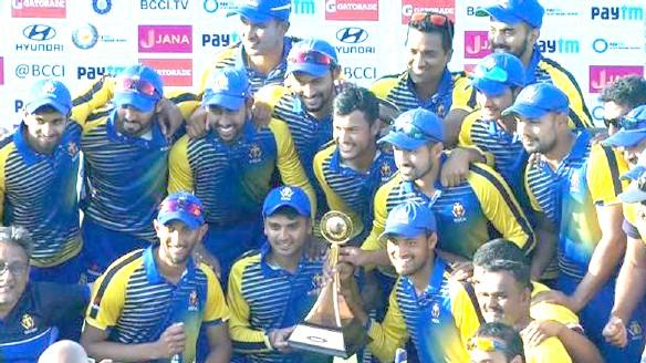 Karnataka beat Saurashtra to win Vijay Hazare Trophy