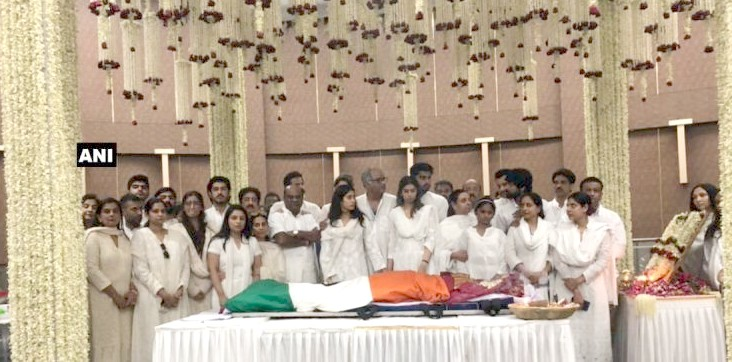 Sridevi's funeral with state honours, thousands say bye
