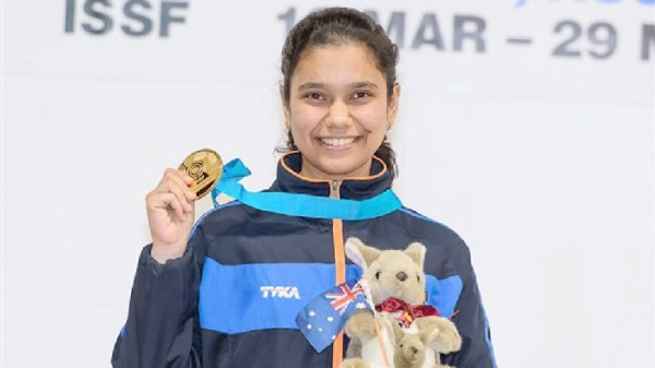 Muskan wins India's fourth individual gold at ISSF Junior World Cup