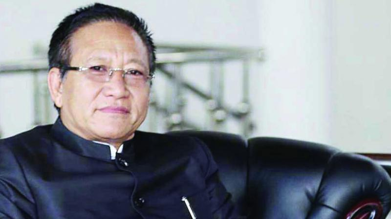 Zeliang's office rubbishes reports  on 'terror funding' link