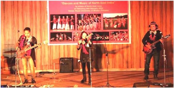 Abiogenesis performs in Bhutan along with various NE Artistes