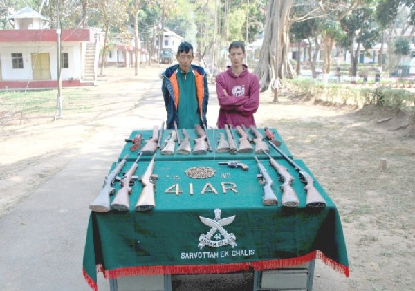 AR apprehends 2 arms fabricators