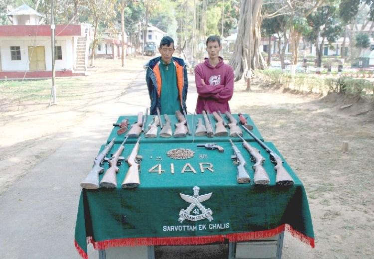 AR apprehends 2 arms fabricators