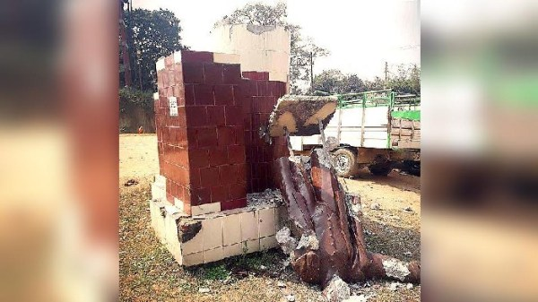 2 Lenin statues toppled in Tripura, BJP-CPM in blame game