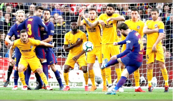 Free kick king Messi proves he has mastered the art