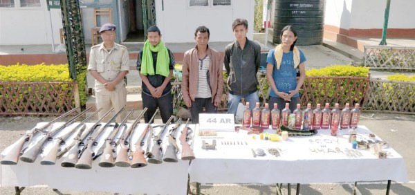 AR apprehends NSCN (R)  cadre with arms