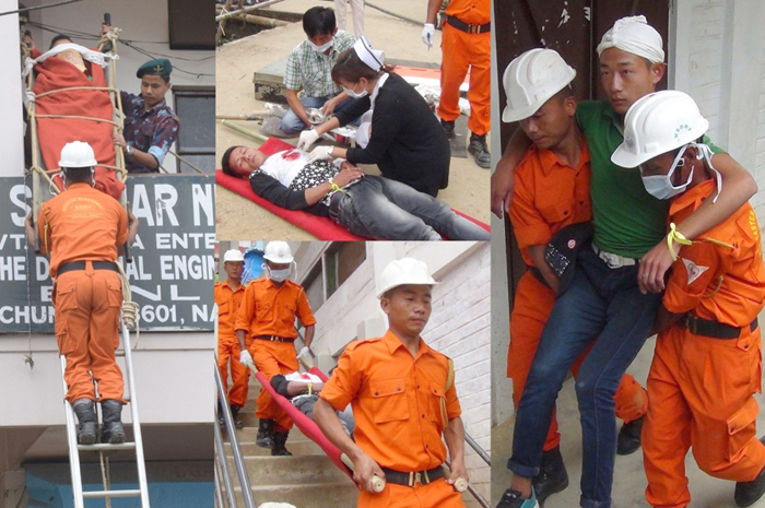 Mock drill conducted across Nagaland