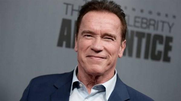 Arnold Schwarzenegger returns home after heart procedure
