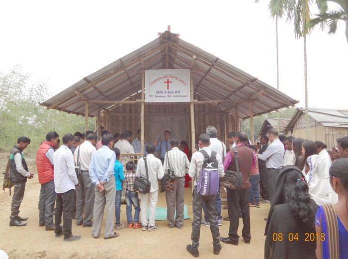 Lahing Koilajungle Church dedicated