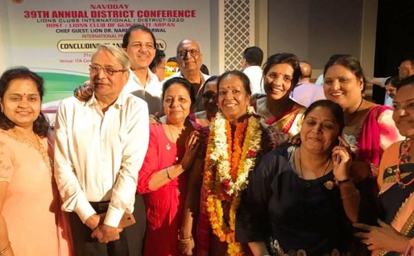 Lion Lalita Khadria selected as Vice Dist Governor