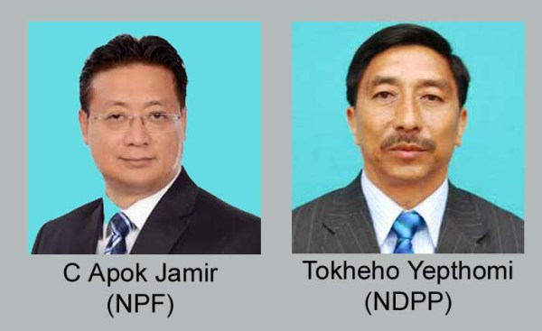 NPF to field Apok Jamir for LS bye-poll; Tokheho likely to be NDPP candidate