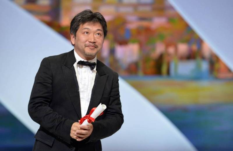 Japanese director Kore-eda wins Palme d'Or for 'Shoplifters' at Cannes Film Festival