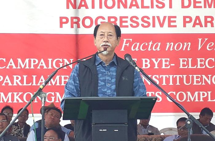 Elect Tokheho for peace, development: CM