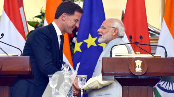 Netherlands supports India's inclusion in NSG, condemns terrorism in South Asia