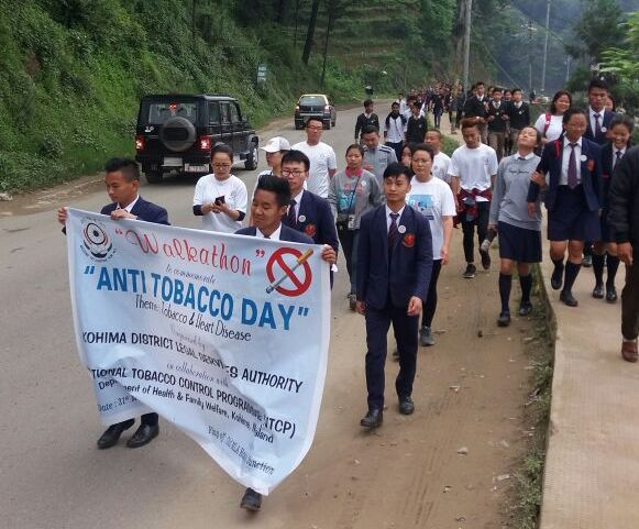 Significant decrease in overall tobacco consumption in Nagaland