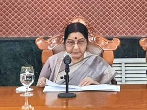 India does not believe in  'Me First' approach: Swaraj